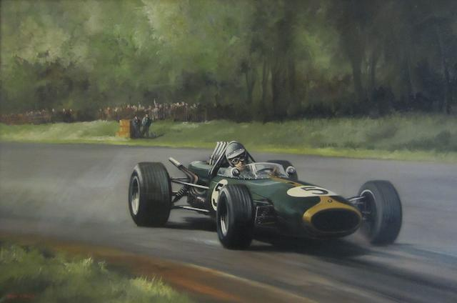 Dion Pears (1929-1985); Jack Brabham World Champion 1959,