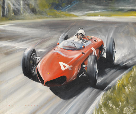 Dion Pears (1929-1985), 1961 Sharknose Ferrari,