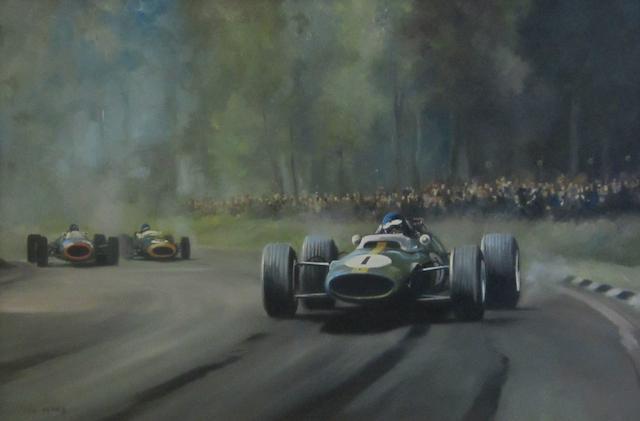 Dion Pears (1929-1985); British Grand Prix, Brands Hatch 1964,
