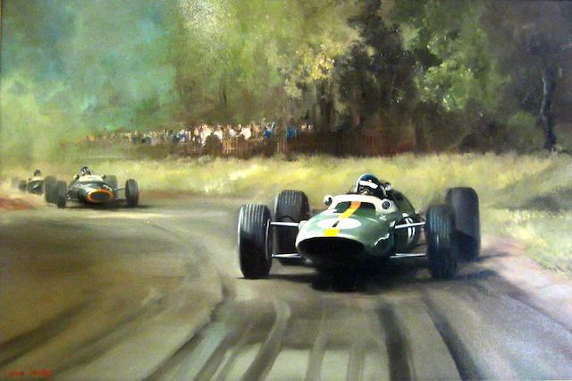 Dion Pears (1929-1985); British Grand Prix 1964, Brands Hatch,