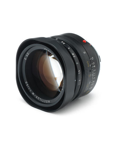 Leica 50mm f1 Noctilux lens,