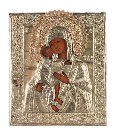 The Feodorovskaya Mother of God Russia, 19th century<BR />
