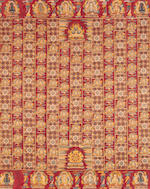 A 'Ten Thousand Buddha' meditation shawl, kasaya