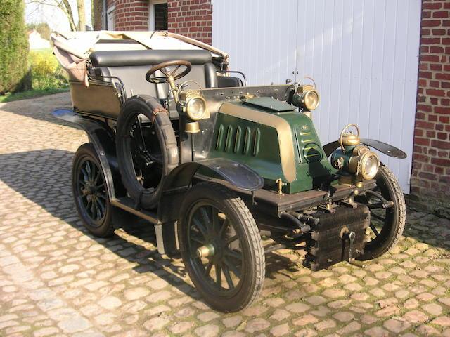1903 Barre Tonneau 4 Seater