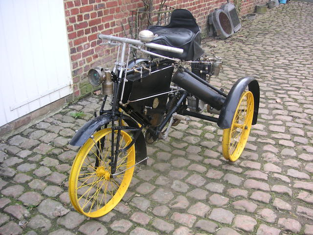 c.1901 De Dion Bouton Tricycle  Engine no. 759