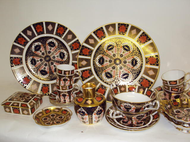 A collection of Royal Crown Derby wares