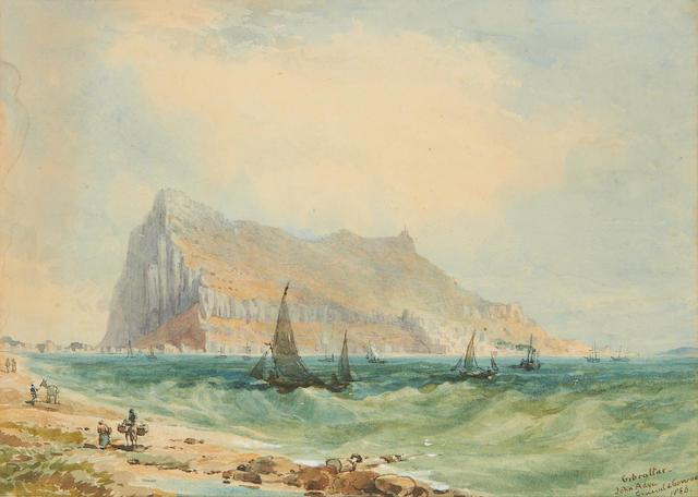 General Sir John Miller Adye (1819-1900) Gibraltar