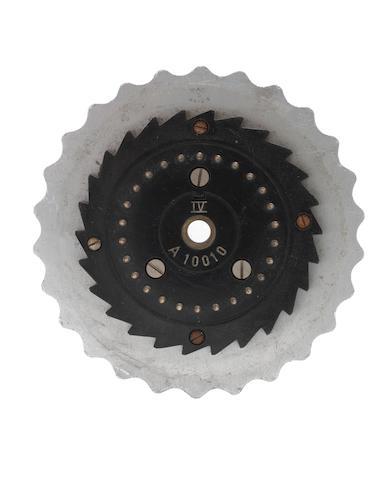 Enigma single rotor,