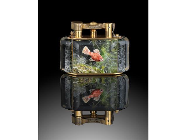 DUNHILL: An 'Aquarium' lighter
