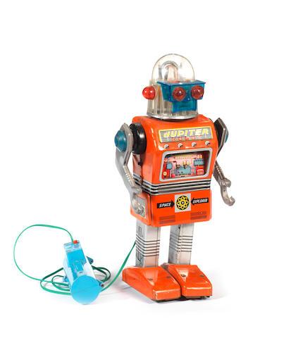A rare Yonezawa battery operated Jupiter Robot