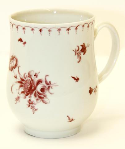 A Plymouth mug, circa 1760