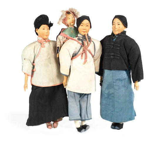 Three 'Door of Hope' missionary dolls 3