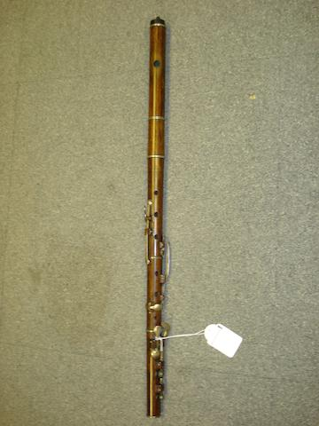 A rosewood Flute by Rudall & Rose, London, 1850 (2)