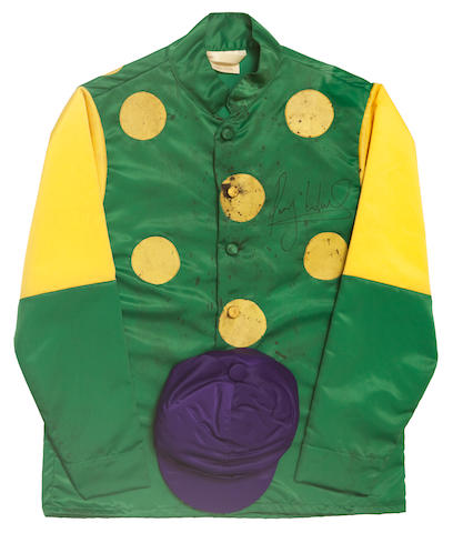 Kauto Star racing silks signed by Ruby Walsh