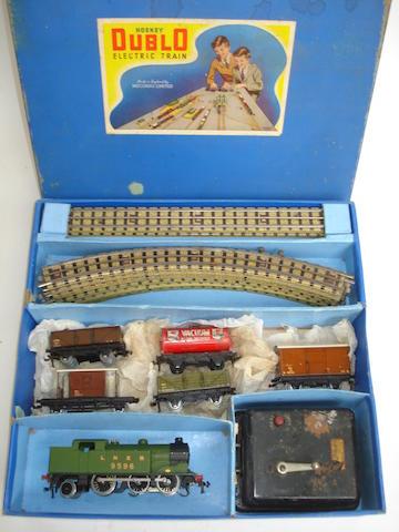 Hornby Dublo EDG7 LNER Tank Goods set