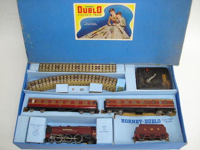 Hornby Dublo EDP2 Duchess of Atholl Passenger train set