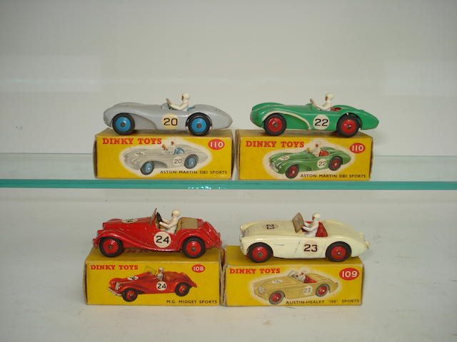 Dinky Sports cars 4