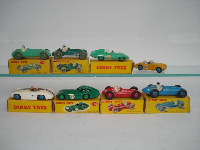 Dinky racing cars 8