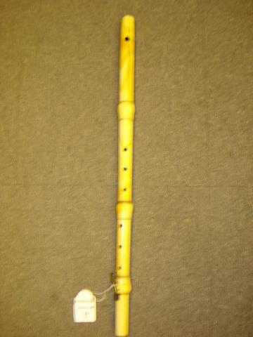 A one key ivory Flute circa 1850 (1)