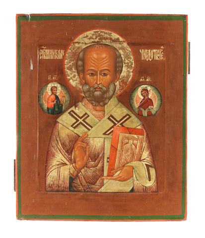 Saint Nicholas Russia, 19th century<BR />