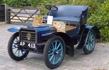 1904 Humberette 'Royal Beeston' 6½hp Two-seater  Chassis no. 2109 Engine no. B5220