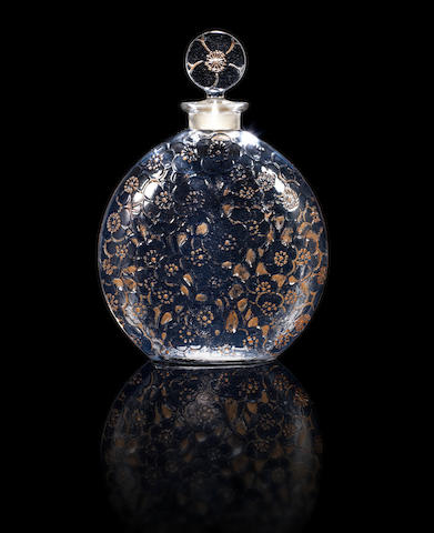 René Lalique for D'Orsay 'Le Lys' a Perfume Bottle and Stopper, design 1922