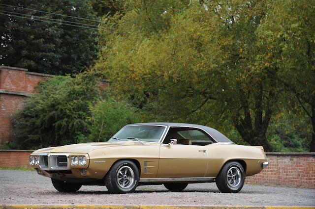Left hand drive,1969 Pontiac Firebird Coupé  Chassis no. 223379N111130 Engine no. TBA