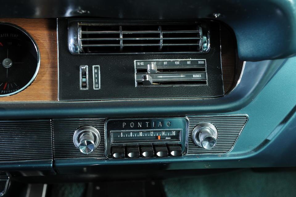1965 Pontiac GTO  Chassis no. 237375K126944 Engine no. TBC