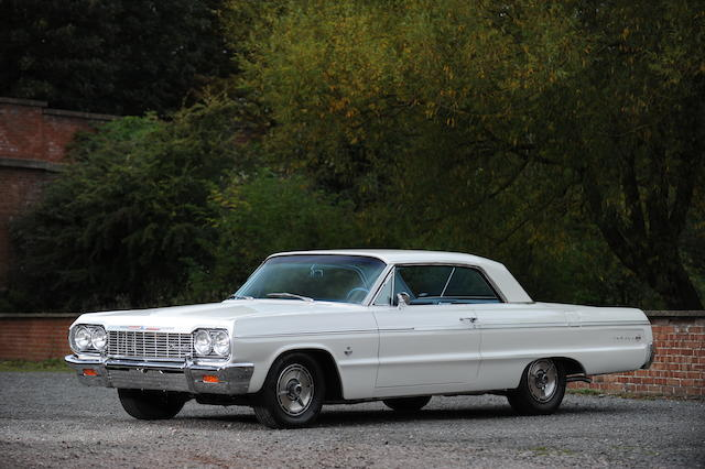 Left-hand drive,1964 Chevrolet Impala Super Sport Coupe  Chassis no. 41447L197041 Engine no. tba