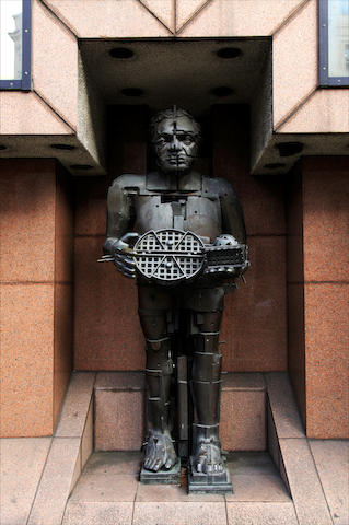 Sir Eduardo Paolozzi (British, 1924-2005) The Artist as Hephaestus 259 cm. (102 in.) tall