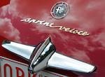 1958 Alfa Romeo Giulietta Coupé Sprint Veloce  Chassis no. 1493 08721 Engine no. 1315 32399