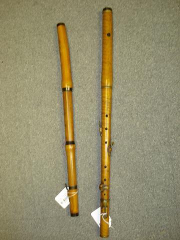 A boxwood Flute by C. Hanken, Rotterdam, circa 1840 (3)