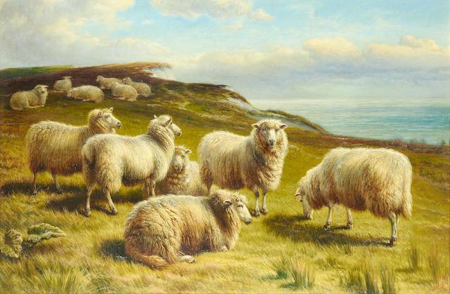 Charles Jones, RCA (British, 1836-1892) On the South Downs