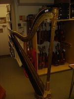 A Regency Greek Chromatic Harp by Sebastian Erard, Great Marlborough Street, London (1)
