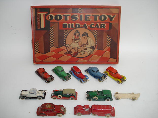 Tootsietoy 5360 Bild-a-car set 7
