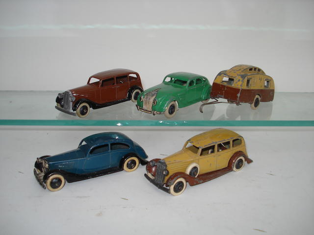Dinky (pre-war) 30 series cars 5