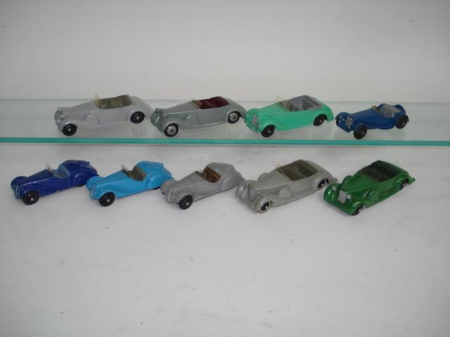 Dinky 38 series cars 9
