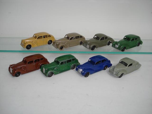 Dinky 39 series cars 8