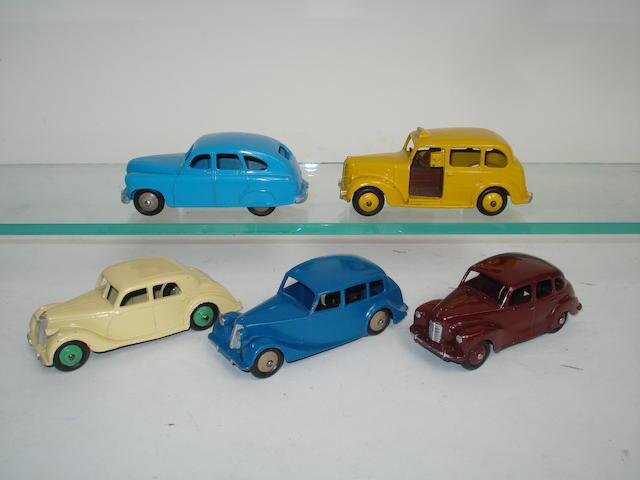 Dinky 40 series cars 5