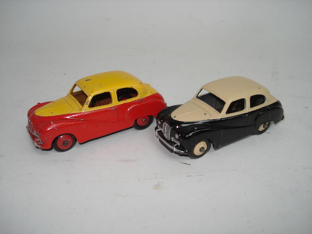Dinky 161 Austin Somerset's two-tone issues 2