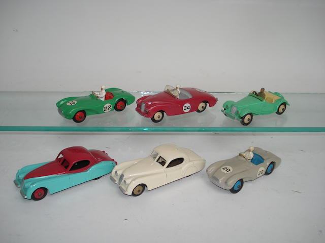 Dinky 157 Jaguar XK120's and other sports cars 6