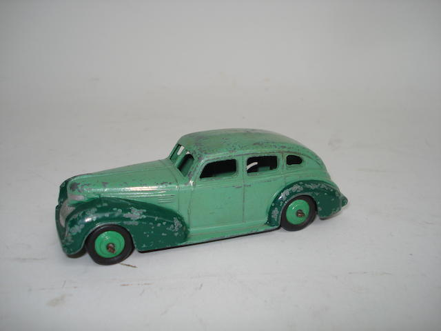 Dinky rare US issue 39eu Chrysler Royal Sedan