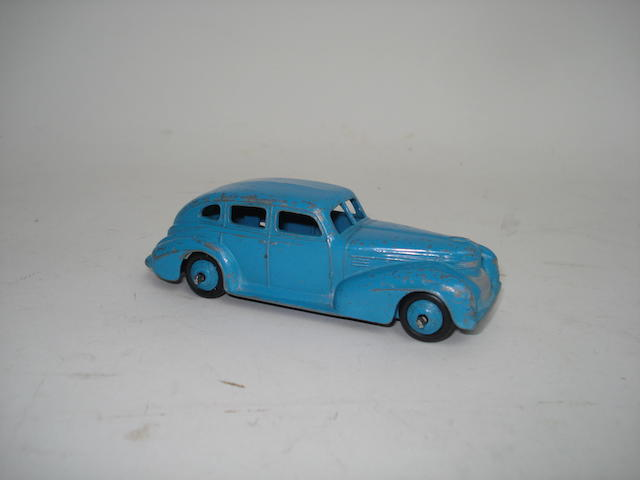 Dinky rare 39e light blue Chrysler Royal Sedan