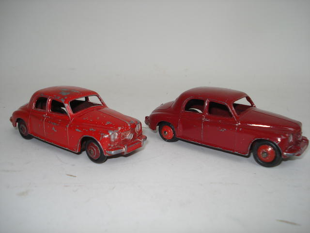 Dinky 140b red Rover 75 Saloon 2
