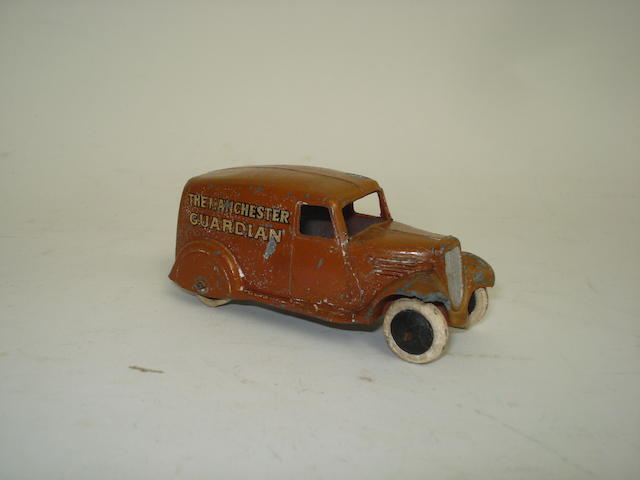 Dinky (pre-war) 28c Manchester Guardian delivery van