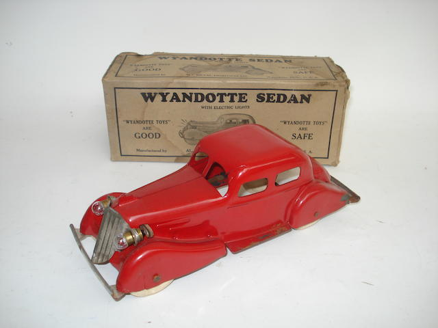 Wyandotte Sedan with electric lights, American 1930s
