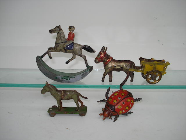Penny toy Rocking Horse, Donkey and Ladybird 4