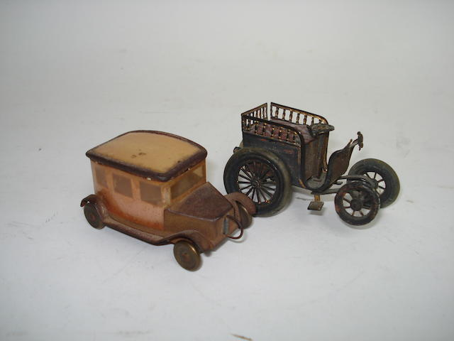 Two Motor Car novelty tape measures 2