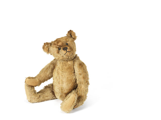 Steiff light brown Teddy bear, circa 1909
