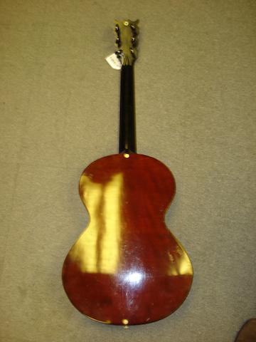 A six string Italian Guitar by Carisch & Janichen, Milan, circa 1900 (2)